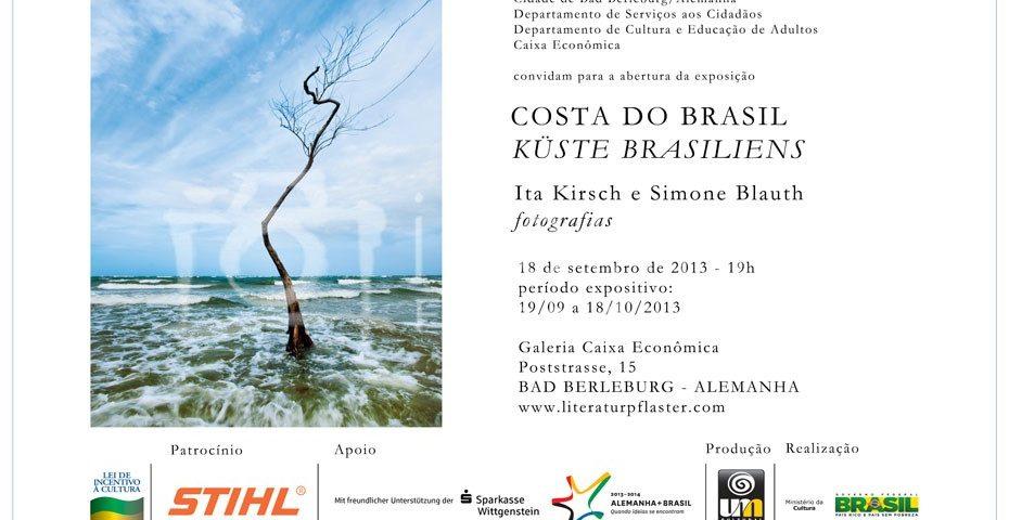 Convite Exposição - COSTA DO BRASIL NA ALEMANHA