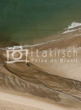 Foto arérea - Praia do Rio Verde - Trancoso - BA